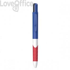 Penna sfera Inkjoy Quatro Papermate - colori standard - fusti assortiti  - 1985636