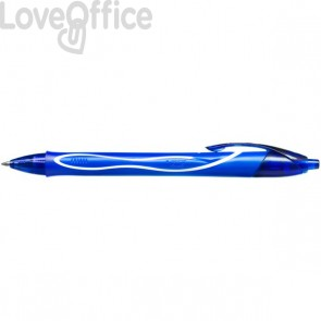 Penna Gelocity Quick Dry Bic - 0,7 mm - blu - 950442 (conf.12)