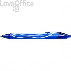 Penna Gelocity Quick Dry Bic - 0,7 mm - Blu