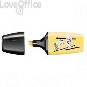 Evidenziatore BOSS MINI Pastellove Stabilo - giallo banana - 07/144-7 (conf.10)