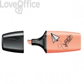 Evidenziatore BOSS MINI Pastellove Stabilo - rosa pesca - 07/126-7 (conf.10)
