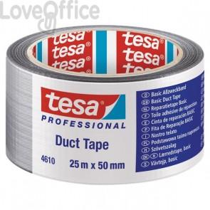 Nastro americano Tesa - standard - 25mx50 mm - grigio - 04610-00001-00