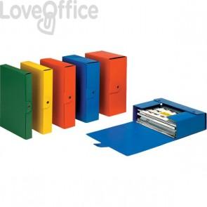 Scatole portaprogetti Eurobox Esselte - dorso 6 cm - 25x35 cm - blu - 390326050 (conf.5)