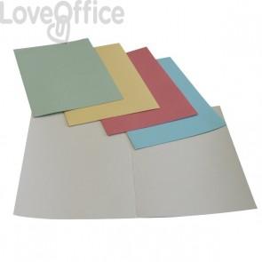 Cartelline manilla - Cartelline cartoncino senza lembi - 5 Star - assortiti - 24,5x34 cm - 190 g/mq (conf.50)