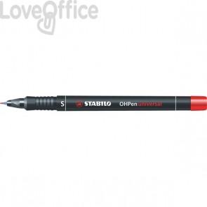 Stabilo Pennarelli indelebili rossi - Stabilo OHPen Universal - superfine - 0,4 mm (conf.10)