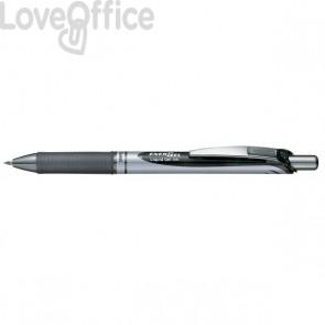 Roller Energel XM Klick Pentel - 0,7 mm - nero - BL77-AO (conf.12)