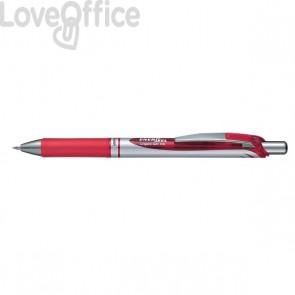 Roller Energel XM Klick Pentel - 0,7 mm - rosso - BL77-BO (conf.12)