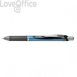 Roller Energel XM Klick Pentel - 0,5 mm - nero - BLN75-AO (conf.12)