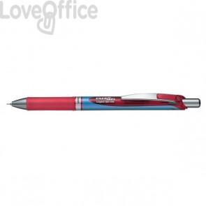 Roller Energel XM Klick Pentel - 0,5 mm - rosso - BLN75-BO (conf.12)
