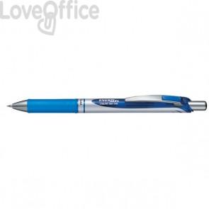 Roller Energel XM Klick Pentel - 0,5 mm - blu - BLN75-CO (conf.12)