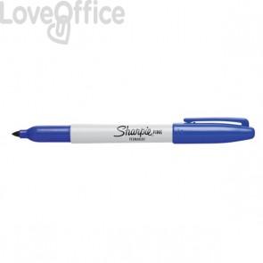 Pennarelli indelebili blu - Pennarelli Sharpie Fine - 1 mm (conf.12)