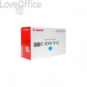 Originale Canon laser 0482C002 Toner alta resa C-EXV 51C ciano