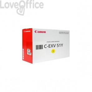 Originale Canon laser 0484C002 Toner alta resa C-EXV 51Y giallo