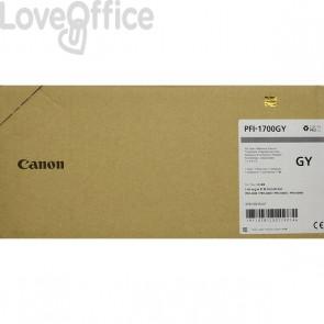 Originale Canon inkjet 0781C001 Cartuccia PFI-1700GY - 700 ml - grigio