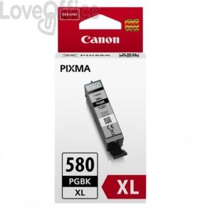 Originale Canon inkjet 2024C001 Cartuccia alta capacità ink pigmentato ChromaLife100 PGI-580PGBK XL nero