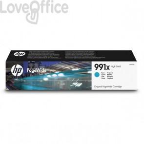 Originale HP inkjet M0J90AE Cartuccia inkjet alta capacità 991X ciano