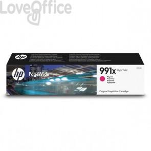 Originale HP inkjet M0J94AE Cartuccia inkjet alta capacità 991X magenta