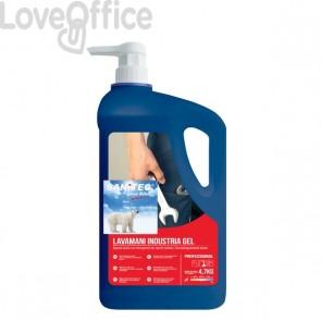 Sapone liquido mani  con Microgranuli - 4,7 Kg - Sanitec - 1045
