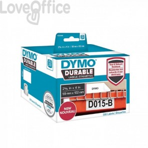 Etichette bianche dymo durable