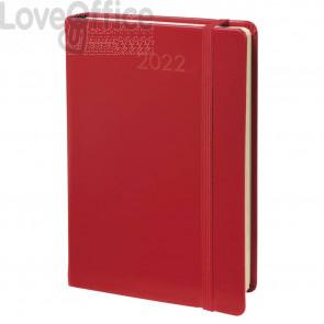Agenda giornaliera 2022 Quo Vadis Daily 21 Habana 13x21 cm rosso