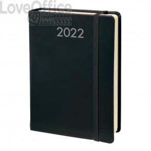 Agenda giornaliera 2022 Quo Vadis Daily Pocket Prestige - Habana 8,8x13 cm nero 617002Q