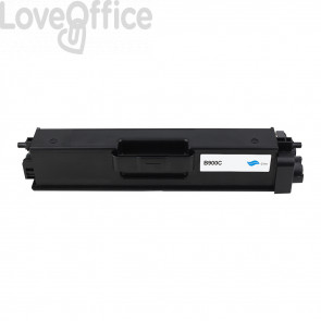 Toner Compatibile TN-900C Ciano Cartridge Brother - 6000 Pagine
