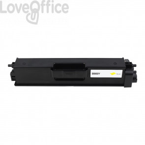 Toner Compatibile TN-900Y Giallo Cartridge Brother - 6000 Pagine