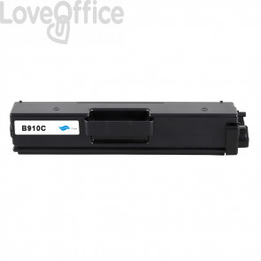 Toner Compatibile TN-910C Ciano Cartridge Brother - 9000 Pagine