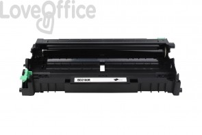 Drum unit Brother Reman Compatibile DR-2100 Nero - 12000 Pagine