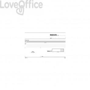 Blocco Ricevute generiche Flex 10x16,8 cm - 162570000 (50x2 copie autoricalcanti)