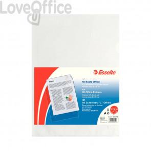 Buste a L Copy Safe Esselte - Office - 22x30 cm - PPL - trasp. antiriflesso (conf.50)