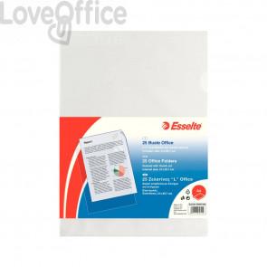 Buste a L Copy Safe Esselte - Office - A4 - PPL - trasp. antiriflesso - 392581200 (conf.25)