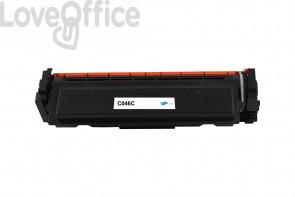 Toner Compatibile Canon 046C - Ciano - 2300 pagine
