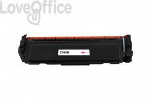 Toner Canon Compatibile 046M - Magenta - 2300 pagine