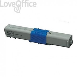 Toner OKI 46508709 per OKI C332 C332DN MC363 MC363DN giallo compatibile alta cap. 3000 pagine