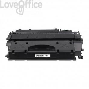 Toner Canon Compatibile 719H - Nero - 6400 pagine