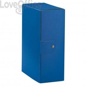 Scatole portaprogetti Eurobox Esselte - dorso 12 cm - 25x35 cm - blu (conf.5)
