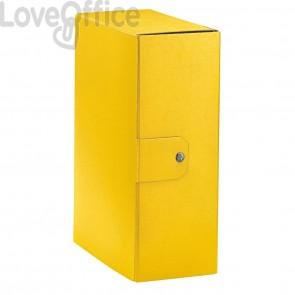 Scatole portaprogetti Eurobox Esselte - dorso 12 cm - 25x35 cm - giallo (conf.5)