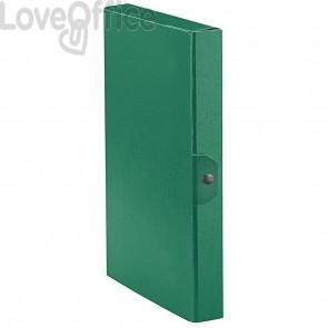 Scatole portaprogetti Eurobox Esselte - dorso 4 cm - 25x35 cm - verde (conf.5)