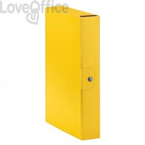 Scatole portaprogetti Eurobox Esselte - dorso 6 cm - 25x35 cm - giallo (conf.5)