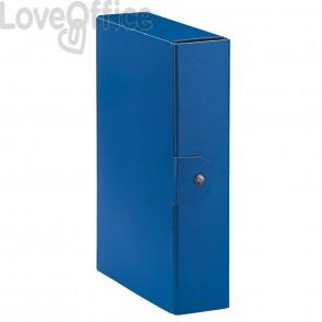 Scatole portaprogetti Eurobox Esselte - dorso 8 cm - 25x35 cm - Blu (conf.5)