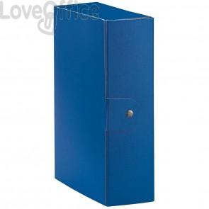 Scatole portaprogetti Eurobox Esselte - dorso 10 cm - 25x35 cm - blu (conf.5)