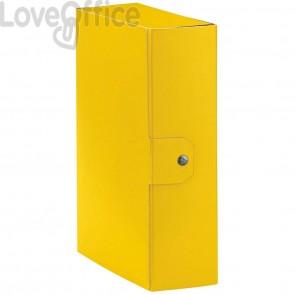 Scatole portaprogetti Eurobox Esselte - dorso 10 cm - 25x35 cm - giallo (conf.5)