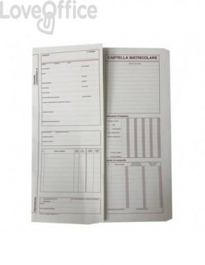 Cartelline matricolari del dipendente data ufficio 32,5x25,5 cm (conf.50x2 copie autoricalcanti)