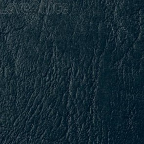 Copertine per rilegatura in similpelle GBC Leathergrain in cartoncino goffrato A4 Nero (conf. 100 copertine)
