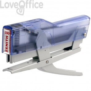 Cucitrice a pinza ZENITH 590 Fun Blu Trasparente/Bianco 205901857