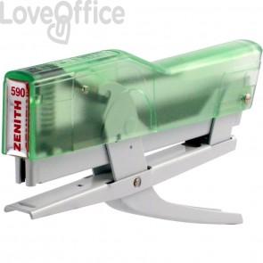 Cucitrice a pinza ZENITH 590 Fun Verde Trasparente/Bianco 205901856
