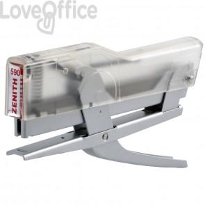 Cucitrice a pinza ZENITH 590 - Trasparente Alluminio