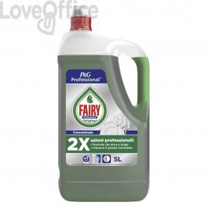 Detergente liquido per stoviglie 5L Fairy Original verde