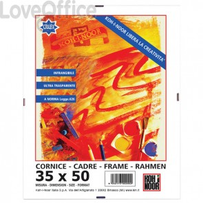 Cornice a giorno in crilex Koh-i-noor - 35x50 cm - DK3550C